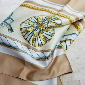 Accessories - Tan Compass Nautica Inspire summer scarf